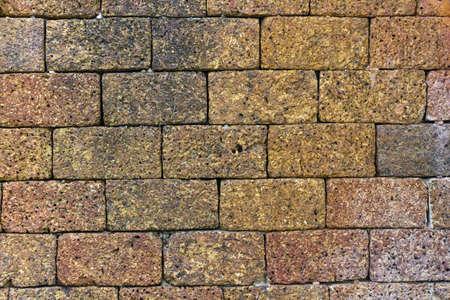 murallas de muchos de antiguas antigua de ladrillo rojo marr�n Foto de archivo - 8408310