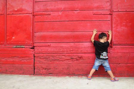 ho: Hub Ho Hin is the name of the old red painted mill of Songkla Province, Thailand.