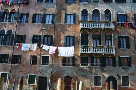 devanture: fa�ade � Venise Banque d'images