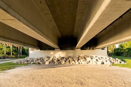 Underneath Sanibel Bridge, Florida - USA photo