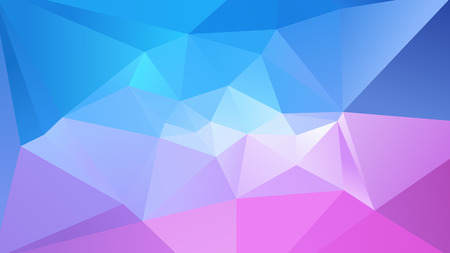 Sky abstract geometric  low poly background vector