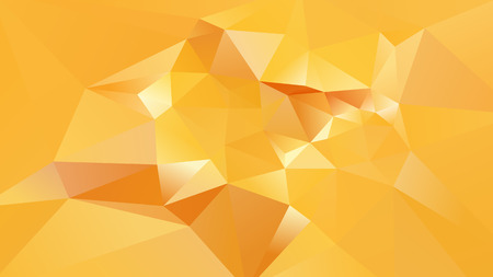 Abstract Orange Low Poly Background Vector