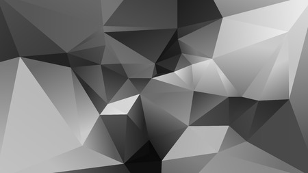 Abstract Gray Low Poly Background Vector