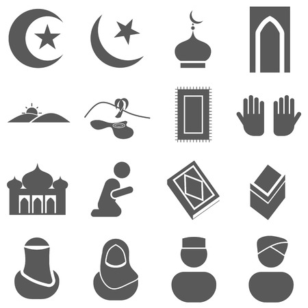 islamic pray: Islamic Icon