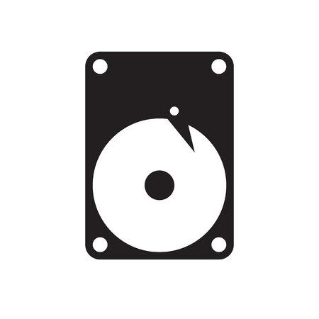 harddisk icon vector