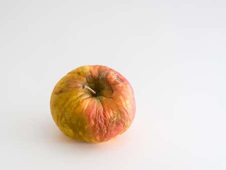 Old Elstar apple isolated on white background