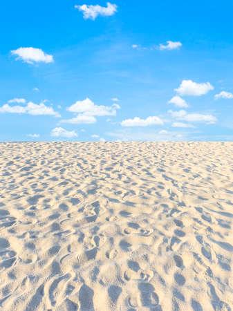砂と空 写真素材