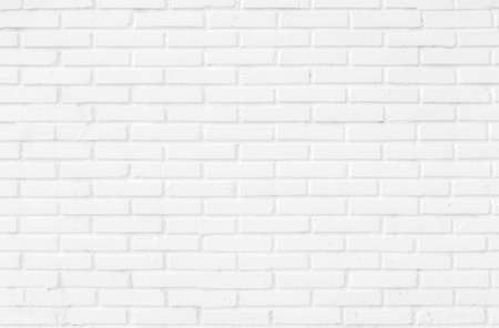 White brick wall. Standard-Bild