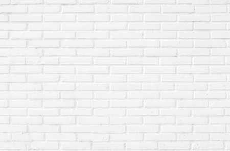 White brick wall. Imagens