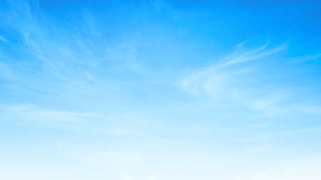 Abstract white cloud and blue sky in sunny day texture background Standard-Bild