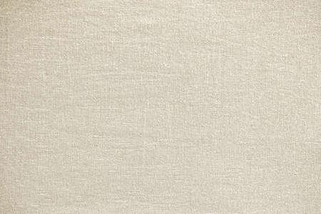 Light cream linen fabric texture background