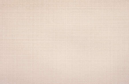 Close up beige linen fabric texture background