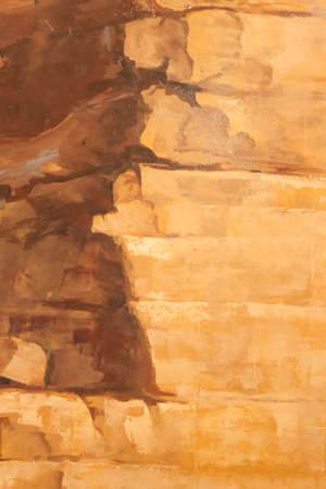 brown wall art background photo