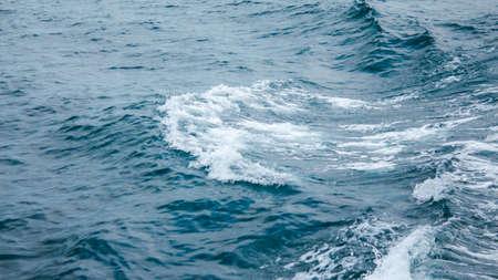 ocean waves: closeup splashing ocean waves Stock Photo