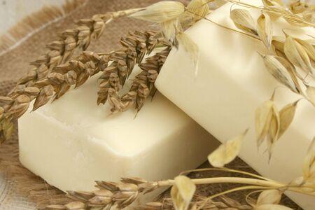 soap: natural soaps Stock Photo