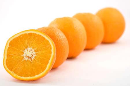 oranges fruit Stock Photo