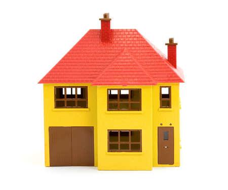plastic house model studio isolated Stock Photo - 2834798
