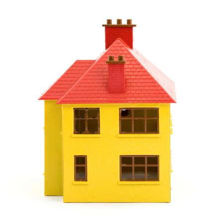 plastic house model studio isolated Stock Photo - 2833710