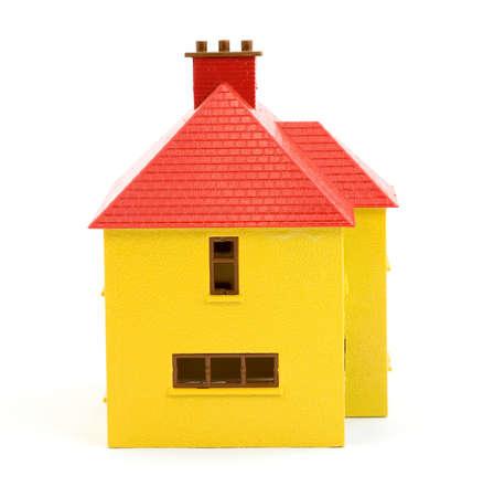 plastic house model studio isolated Stock Photo - 2834101