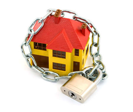 home security concept studio isolated Stock Photo - 2839411