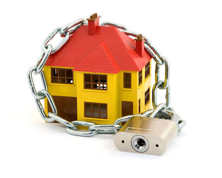 home security concept studio isolated Stock Photo - 2839397