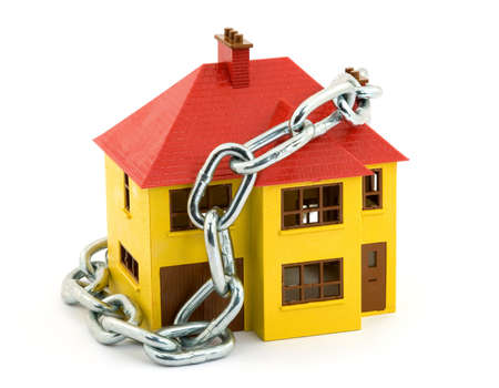 home security concept studio isolated Stock Photo - 2839413