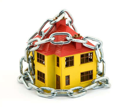 home security concept studio isolated photo