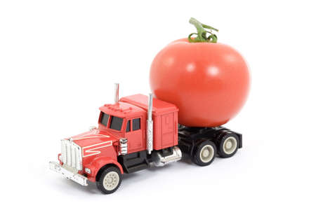 cisterna: vitaminas cisterna - de juguete de camiones que transportan alimentos