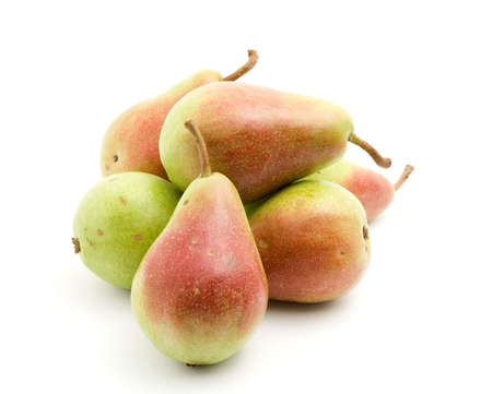 pears fruid studio isolated over white Stock Photo - 3280391