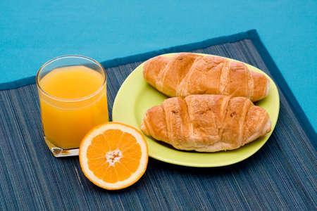 healthy diet - orange juice on the table photo
