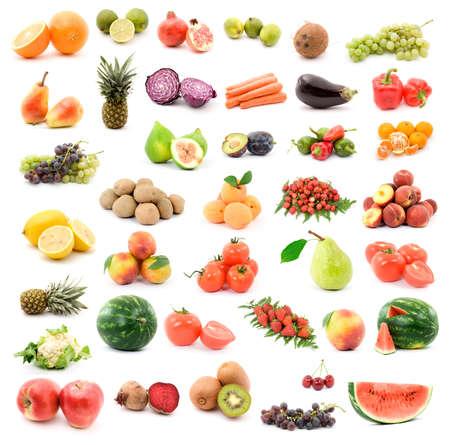 fichi: frutta e verdura studio isolato Archivio Fotografico