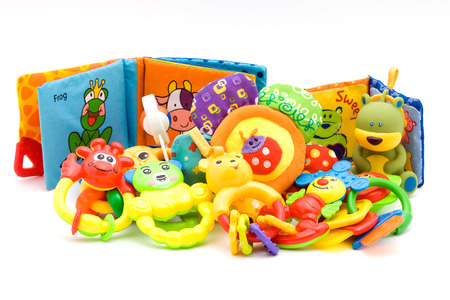 colrful: baby toys Stock Photo