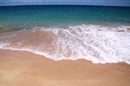 Papohaku Beach, Molokai Island, Hawaii Stock fotó