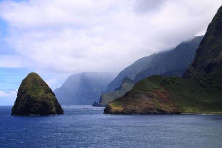 Landmark of Molokai Island Hawaii