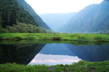 Waimanu Valley , Hawaii Island