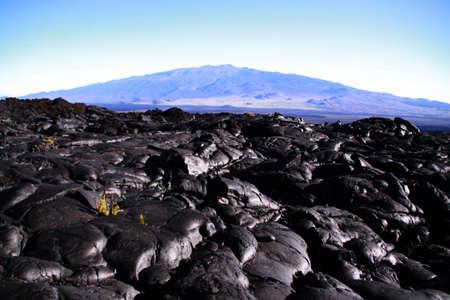 Mauna Kea Overlook from Mauna Loa Summit Reklamní fotografie