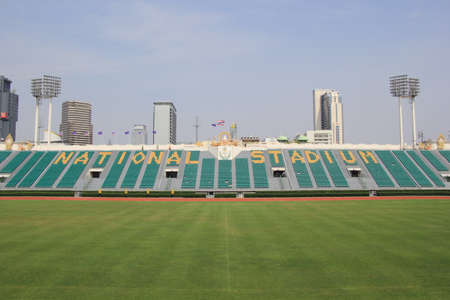 stadia: The National Stadium of Thailand or Suphachalasai Stadium, Bangkok It is a public sports complex located in Pathum Wan District, Bangkok.