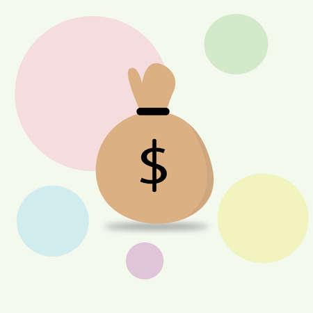 pouch: Money pouch clipart