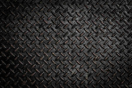 Background of metal diamond plate photo