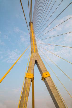 rama: Rama 8 Bridge in Bangkok, Thailand