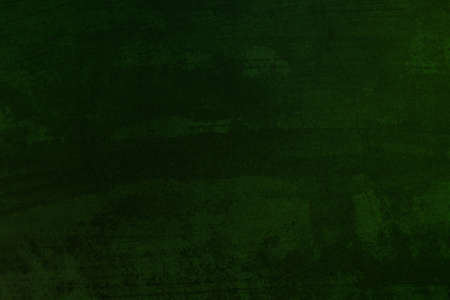 green dark texture background pattern and vintage or grunge. abstract old paint and rusty of wall black color and retro. cool and scary color background. page paper rough. Banco de Imagens