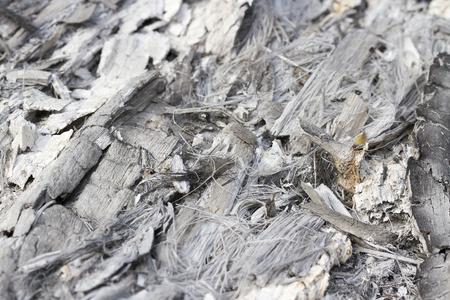 la quemada: Quemado cenizas de ramas, hierbas Foto de archivo