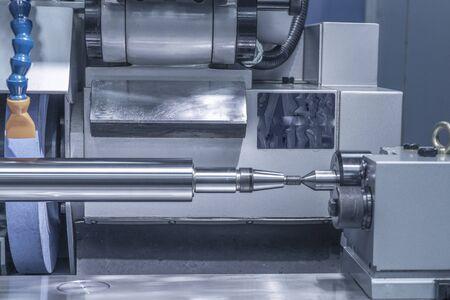 Circular grinding machine precision working metal machinery.
