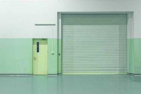 Factory door industrial door or warehouse Reklamní fotografie