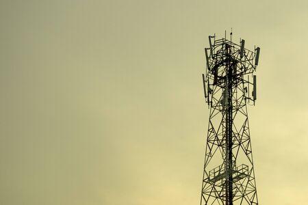 Mobile phone communication tower transmission  signal  leash