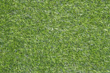 Artificial grass flooring green abstract background or texture background top view