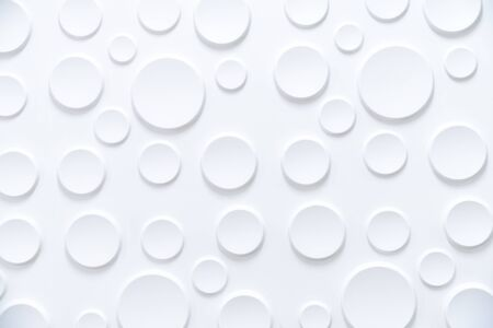 White background texture pattern or wallpaper abstract background closeup view.