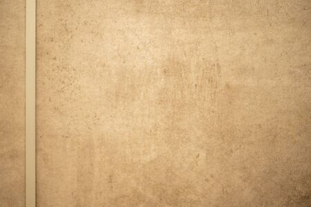Brown texture background, Brown abstract background and white lines for text area in close up view Stock Photo