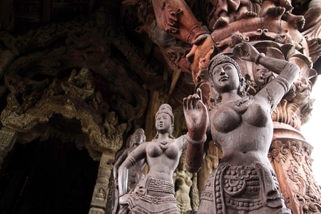 wood carvings: Wood carvings  The Art of Thailand