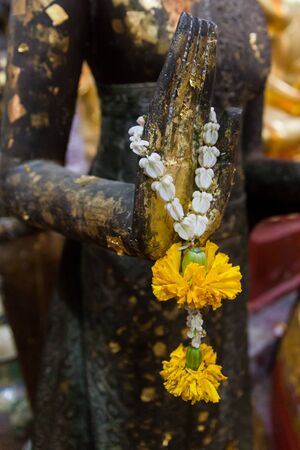 Garland for worship Buddha  photo